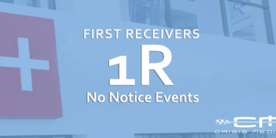 First Receivers – No Notice Events – ONLINE